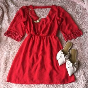 Red Dress - Small
